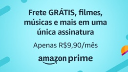 Teste Grátis por 30 dias – Amazon Prime