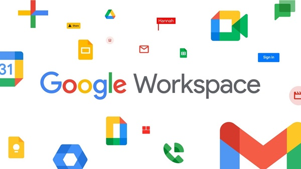 Indicações do Google Workspace