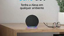 Novo Echo Dot (4ª Geração): Smart Speaker com Alexa – Cor Preta